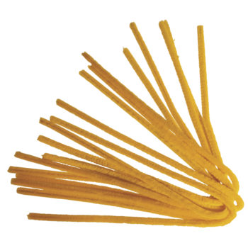 Rayher Chenilledraht, gelb, 50 cm, Stärke 9mm,10 Stück