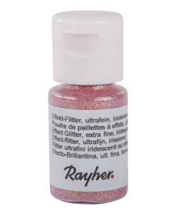 rayher effekt flitter pastellrosa