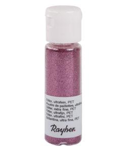 rayher flitter pink