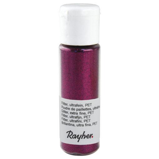 rayher flitter hot pink