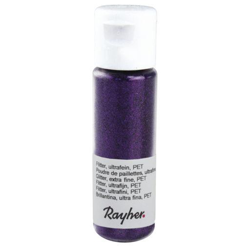 rayher flitter purple-velvet
