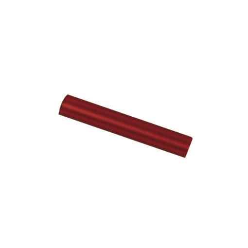Böhmische Glas-Stifte 2x15mm, rot matt