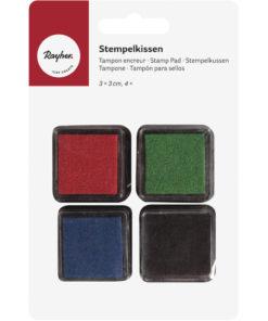 Rayher Mini-Stempelkissen-Set Basicc