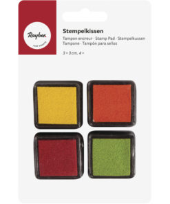 Rayher Mini-Stempelkissen-Set Spring