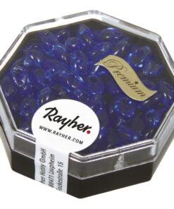 Magatama Perlen royalblau zur Schmuckgestaltung