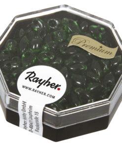 Magatama Perlen smaragd zur Schmuckgestaltung
