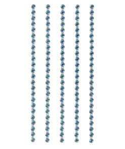 selbstklebende Plastik-Strasssteine