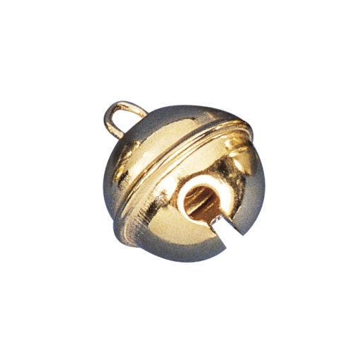 Rayher kugelförmige Metallglöckchen, 24mm, in gold