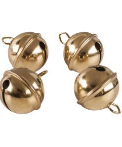 Rayher kugelförmige Metallglöckchen, 29mm, in gold