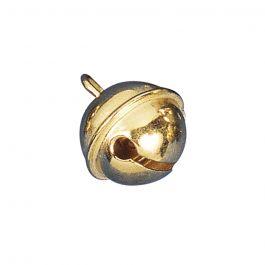 Rayher kugelförmige Metallglöckchen 19mm Ø in gold