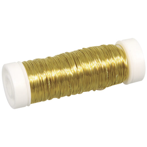 Schmuck-Häkeldraht gold, 0,30mm Ø, für Schmuckarbeiten