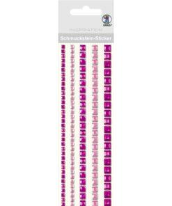 Ursus Bordüren-Sticker in pink