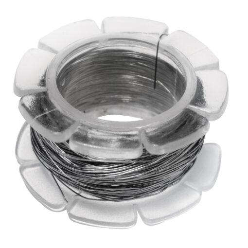 Biegsamer Spezial-Perlenfädeldraht in silber