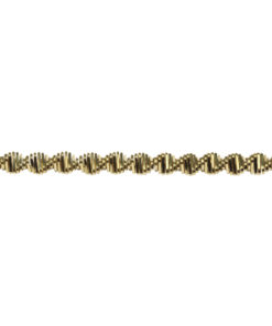 Rayher Zackenkraus-Bouillondraht, gold, 2mm Ø
