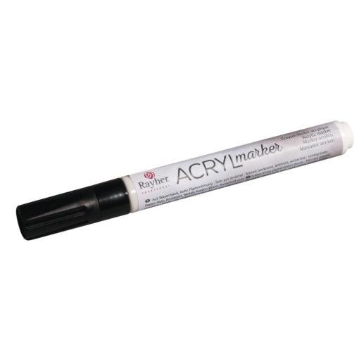 Acryl-Marker in schwarz