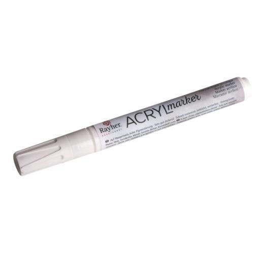 Acryl-Marker in weiß