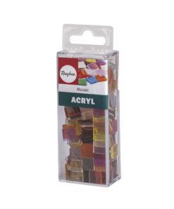 Rayher Acryl-Mosaik Steine, bunt, zum Basteln
