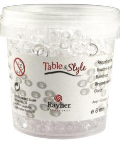 Acryl Regentropfen in kristall