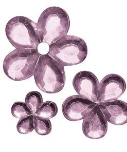 Rayher Acryl-Strassblüten flieder