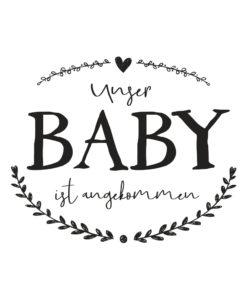 Rayher Schriftstempel Baby