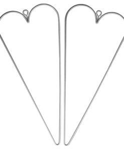 Rayher Draht-Herz, 16x7 cm, 2 Stück