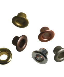 Rayher Easy Eyelets rund, sortiert, 8mm, 50 Stück