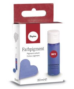 Pulver-Farbpigment zum Einfärben in blau