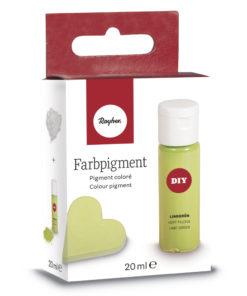 Pulver-Farbpigment zum Einfärben in lindgrün