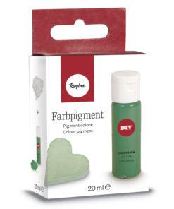 Pulver-Farbpigment zum Einfärben in piniengrün