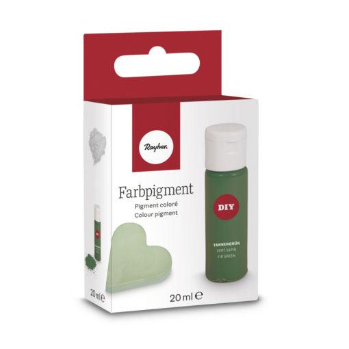 Pulver-Farbpigment zum Einfärben in tannengrün