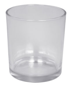 Gefäß aus Glas, für Kerzenwürfel