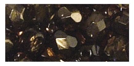 Glas Schliffperlen zur Schmuckherstellung in nougat