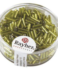 Glasstifte mit Silbereinzug zur Schmuckherstellung in hellgrün