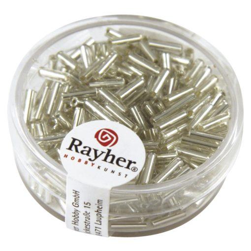 Glasstifte mit Silbereinzug zur Schmuckherstellung in silber