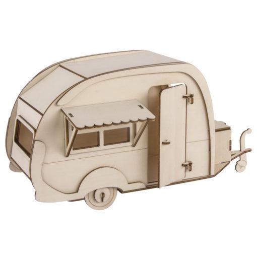 Rayher Holz-Bausatz Wohnwagen