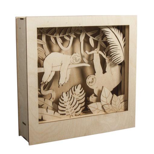 Rayher Holz-Bausatz Faultier
