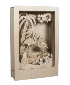 Rayher Holz-Bausatz Flamingo