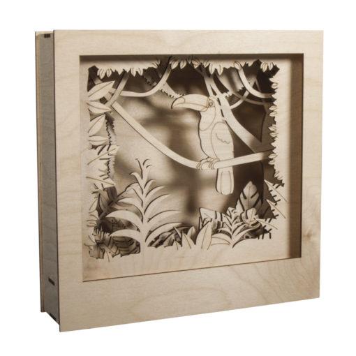 Rayher Holz-Bausatz Tukan