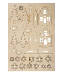 Rayher Holz-Bausatz Winter