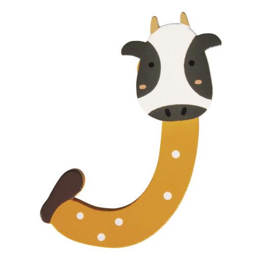 Rayher Holz-Buchstabe J, für Kinder, zum Kleben und Dekorieren