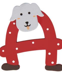 Rayher Holz-Buchstabe A, für Kinder, zum Kleben und Dekorieren