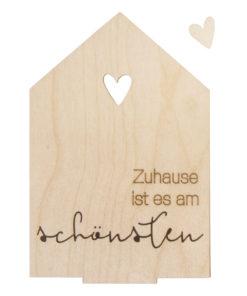 Rayher Holz-Haus zum Gestalten