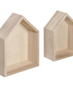 Rayher Holzrahmen-Häuser, zum Gestalten