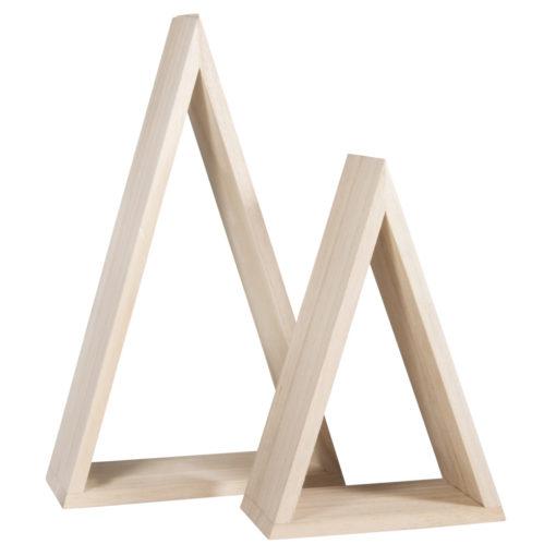 Rayher Holz-Rahmen-Set dreieckig