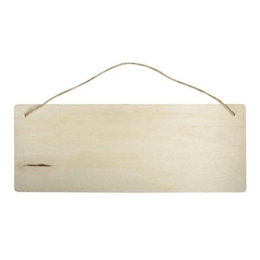 Rayher rechteckiges Holz-Schild