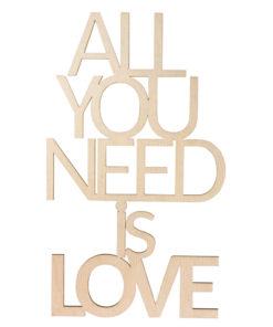 Rayher Holz-Schriftzug LOVE