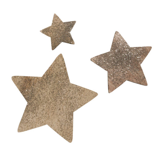 Rayher Glitter-Holzdeko zum Streuen