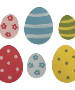 Holzstreuer Eier zum Kleben