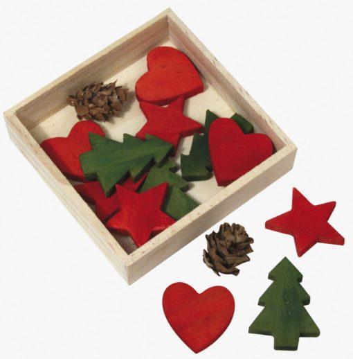 Rayher Holzstreuer Weihnachtsmischung