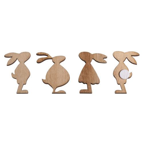 Holzstreuer Osterhasen, zum Dekorieren